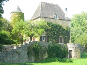 14th century manoir with swimming pool and 8.5ha