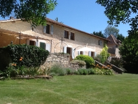 Substantial 18th century farmhouse with gite, 2 swimming pools and 4ha