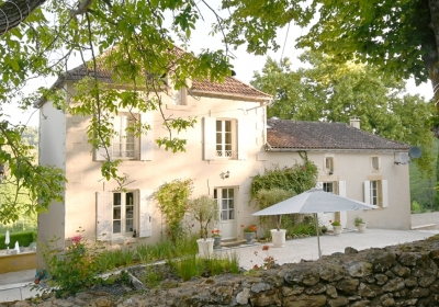 Attractive restored manoir with guest cottage, heated swimming pool and 2.5ha