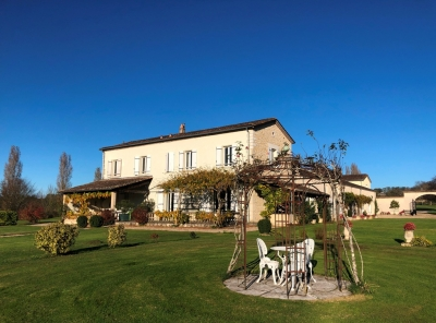 Substantial restored manoir with guest cottage, pigeonnier, swimming pool and 5ha