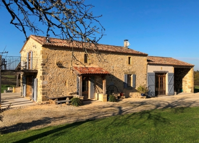 Superbly restored farmhouse with three guest cottages, swimming pool and 1.2ha