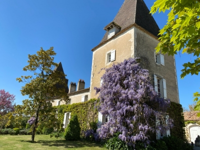 Attractive 18th century chateau with swimming pool and 4.3ha