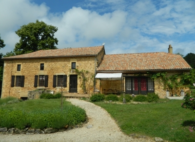 Substantial former gite complex with swimming pool and 3ha