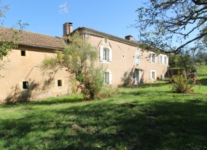 19th century farmhouse with gite, outbuildings and 9ha