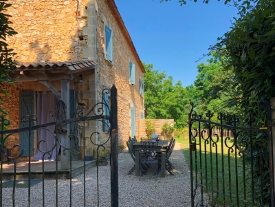 Restored farmhouse with integral gite, swimming pool and 1.8ha