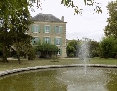 Imposing 19th century manoir with swimming pool and large garden