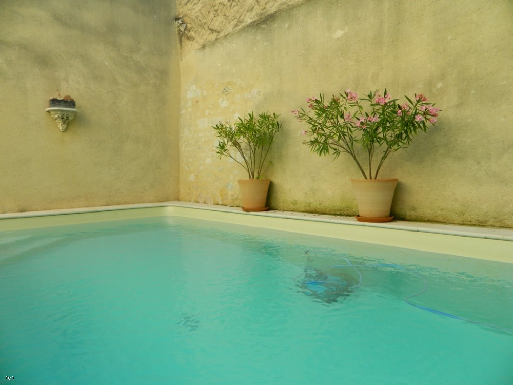 Sympathetically restored village house with swimming pool