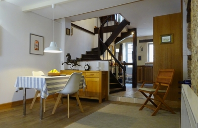 Beautifully restored village house with dining courtyard